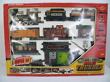 New Bright: RIO GRANDE - ROLL'N THUNDER, 35 pc. Train Super Set, G scale, 1986