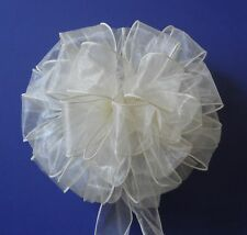 Wedding Pew Bows, Reception Decoration, Order Any Color, Any Number