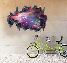 Space Wall Sticker, Stars, Astroid, Star Wars, Star Trek, Science, Removable