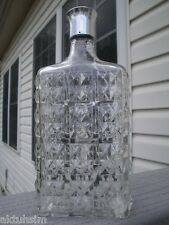 BISQUIT-DUBOUCHE Beautiful RARE Crystal EMPTY Cognac Bottle!
