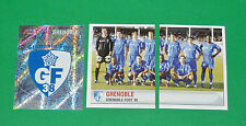 PANINI FOOTBALL FOOT 2007 GRENOBLE GF 38 COMPLET FRANCE 2006-2007
