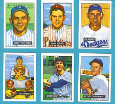 1951 Bowman Baseball Reprint Team Set: Boston Braves (19 cards)