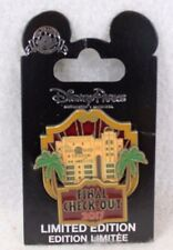 Disney DLR DCA Tower Of Terror Final Check Out 2017 LE 5000 Pin