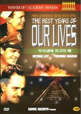 The Best Years of Our Lives (1946) DVD (Sealed) ~ MYRNA LOY *BRAND NEW*