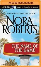 The Name of the Game by Nora Roberts MP3-CD - Buy 3 Get FREE SHIPPING