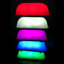 5 Color Car Taxi Topper Roof Blank DIY Sign LED Light Lamp Magnetic Super Bright