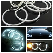KIT LED Angel Eyes Halo Ring Feux CCFL Blanc Pour BMW E36 E38 E39 E46 M3 8000K