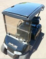 QDRIVE 160w Golf Cart Solar Panel PV Battery Charger Kit for 48v System