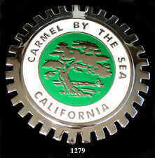 CAR GRILLE EMBLEM BADGE - CALIFORNIA(CARMEL BY THE SEA)