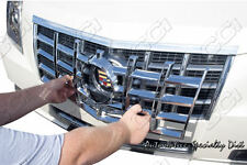 2012 2013 CADILLAC CADY CTS SEDAN COUPE 1PC CHROME ABS GRILLE GRILL OVERLAY