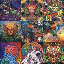 NINE OF THE BEST Blotter Art 30 x 30 = 900 hits NOT soaked in LSD Mint/New