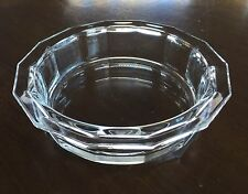 BORMIOLI ROCCO CLEAR GLASS BERRY/DESSERT/SALAD BOWL ITALY