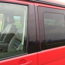 VW T5 California, Carvelle, Transporter B Pillar Blackout Decals -Gloss Black