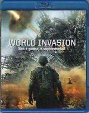 Blu Ray  WORLD INVASION *** Oltre 2 Ore di Contenuti Speciali ***  ......NUOVO
