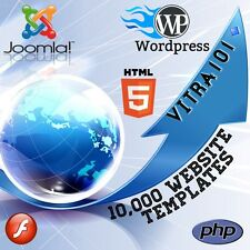 10,000 Plus - Website Templates - Flash, Wordpress, Joomla, Turnkey, Themes.