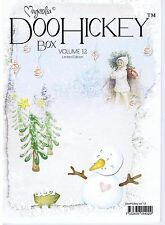 MAGNOLIA STAMPS DOO HICKEY CLUB  VOL 12- CHRISTMAS-LIMITED EDITION-DIES- SIZZIX