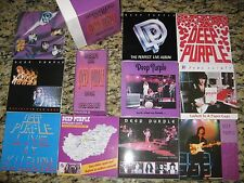 Deep Purple Ritchie's Box 17CD set Japanese Label CD Collection Rare Autographed