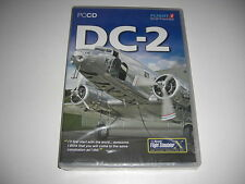 DC-2 PC CD ROM Add-On Flight Simulator Fsx Sim X 2004 FS2004 Nuevo y Sellado