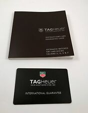 Tag Heuer Operational Manual GMT and Diving Calibre 3, 5, & 7 Automatic Watches