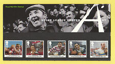 ROYAL  MAIL  -  PRESENTATION  PACK  NO. 261   -  RUGBY  LEAGUE   -  1995