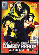 *NEW* COWBOY BEBOP plus MOVIE *26 EPS*ENGLISH AUDIO & SUBS*ANIME DVD*US SELLER*