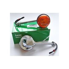LUCAS Classic Motorcycle Indicators Genuine Lucas-Long Stem