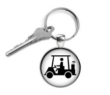 Golf Cart Keyring, Golfing, Gifts for Him, Gifts for Her, Key Chain