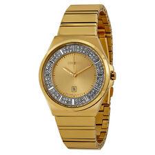 Seiko Champagne Dial Gold-tone Stainless Steel Ladies Watch SXDF72