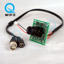 "1/3""SONY 480TVL CCD Color Video 3.6mm Lens CCTV Security Camera Board PCB C4-1"