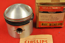 "NOS Royal Enfield 500CC .040"" Oversize Piston and Rings Set"