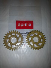 BRAND NEW GENUINE PAIR OF APRILIA BALANCE SHAFT GEARS Z=27 AP0234431 RS125 RX-SX