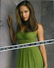 "KRISTIN KREUK SEXY!! COLOR 8x10 PHOTO HOT GREEN DRESS!! ""SMALLVILLE"""