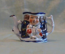 VINTAGE ALLERTONS NOVELTY TOBY TEAPOT DOUBLE SIDED NO LID