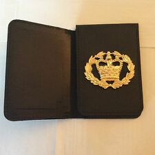 Warrant Card Wallet / ID Card Holder with Crest