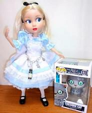 "Custom Alice in Wonderland Tonner Patience 14"" Doll + NEW Funko Pop Cheshire Cat"