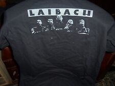 OFFICIAL SPAIN LAIBACH T-SHIRT L-SIZE UNWORN