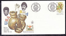 Bophuthatswana 1980 Mohammad Ali World Title Figh First Day Cover - Unaddressed