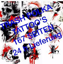 Tattoovorlagen Dvd Trash Polka motive Tattoo  Neu Trend 2016 DOWNLOAD