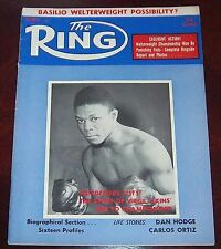 The Ring Magazine August 1958  Virgil Akins Collectable