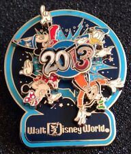 DISNEY PIN - WDW - 2013 Spinner - Sorcerer Mickey, Donald, Goofy and Minnie