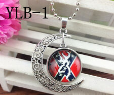 2015 Browning Deer Silver Plated CHAIN NECKLACE Alloy & Pendants