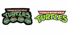 "TMNT Teenage Mutant Ninja Turtles 4"" Embroidered Iron/Sew-On Patch US Seller"