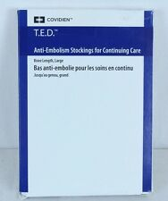T.E.D. Knee-Length Continuing Care Anti-Embolism Stockings Size Large Beige 4289