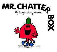 Mr Chatterbox by Roger Hargreaves (NEW)