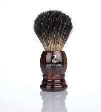 ZWICK-S Pennello da barba HAVANNA Belloni shaving spazzola gray badger Solingen