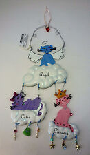 RUSS PRINCESS ANGEL CUTIE PURRFECT KITTY CAT HANDPAINTED ORNAMENT WALL HANGING