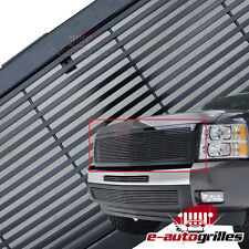 07-13 Chevy Silverado 1500 Black Aluminum Billet Packaged Grille Grill W/ Shell