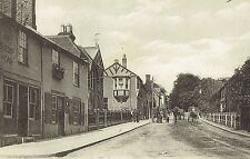 1904 Queens Head Pub Stanmore Hill Middlesex RP Postcard