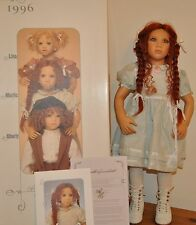 Annette Himstedt doll Marlie A girl from Germany boxed with certificate