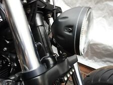 TRIUMPH THUNDERBIRD 1600 & 1700 LED HALO HEAD LIGHT & BRACKET BLACK